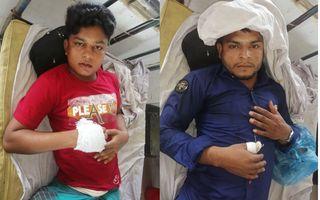পেকুয়ায় মাদক ব্যবসায়ীর হামলায় চাচা ভাতিজা আহত